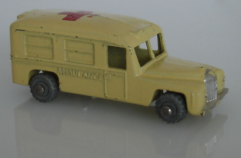 14A1 Daimler Ambulance