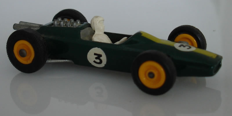 19D3 Lotus Racing Car