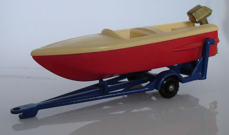 48B3 Sports Boat and Trailer