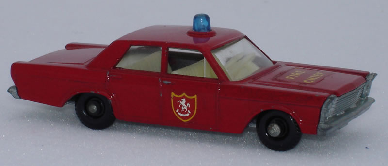 59C1 Ford Galaxie Fire Chief Car