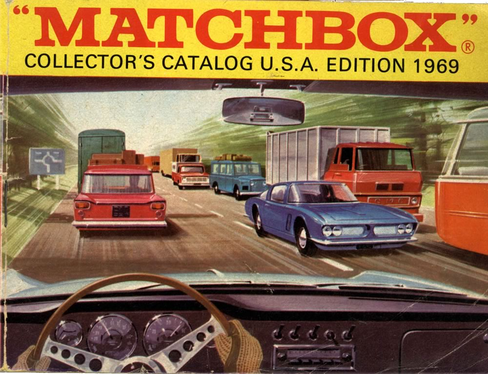 Matchbox Lesney 1969 catalog cover page