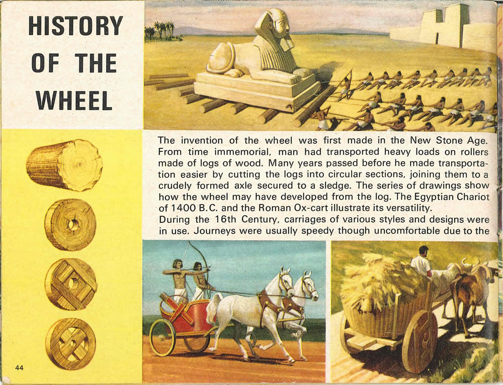 """the inenvention of the wheel """"the wheel-and-axle concept was the real stroke of brilliance,"""" says anthropologist david anthony that idea required extreme finesse, which only metal tools could adequately provide."""