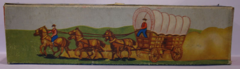 Lesney covered wagon box
