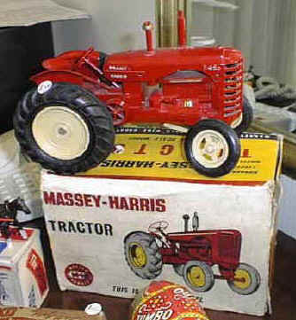 Lesney Tractor
