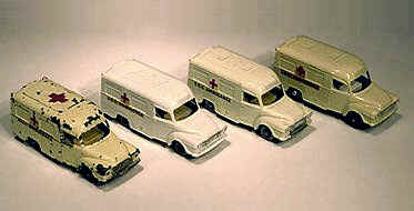 14C Lomus Ambulances showing color differences