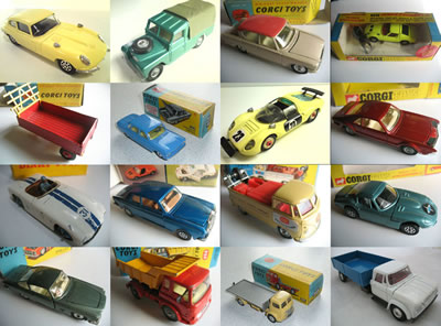 Toy Collector sample cars for sale